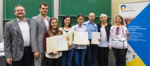 Photo of the finalists and the PhD Contest committee