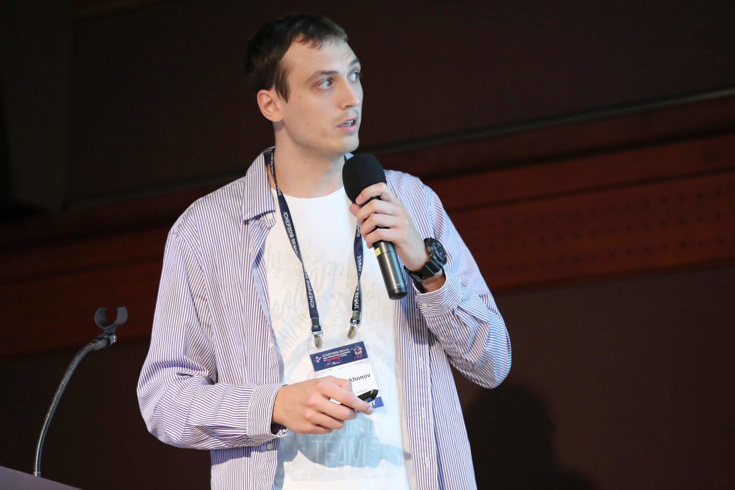 Photo of Andrii Tykhonov